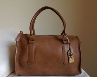 RARE COACH Vintage Handbag, Authentic Designer Bag, Coach Doctor Bag, Coach Satchel Bag, Coach Madison, Great Condition, Made in USA