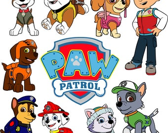 Paw Patrol SVG files