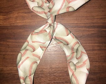 Baseball Wire Twist Headband