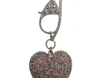 Tourmaline Heart Necklace!