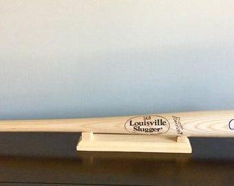 Desktop Baseball Bat rack stand holder
