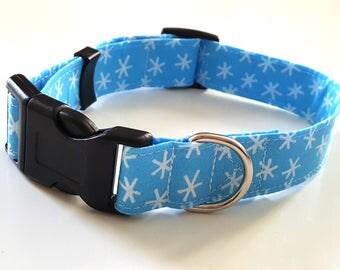 Dog Collar - Christmas Snowflake