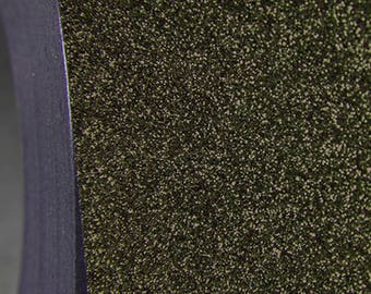 "Glitter Olive 20"" Heat Transfer Vinyl Film By The Yard"