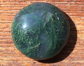 Moss Agate Cabochon