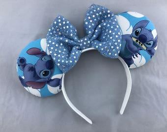 Lilo and Stitch Minnie Mouse Ears