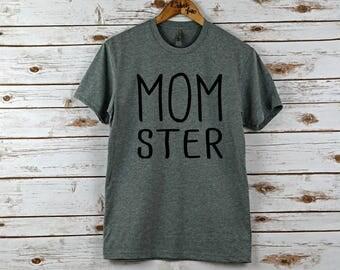 Halloween t-shirt, Womens halloween shirt, halloween shirt, tee shirt, t shirt, womens, women's shirt, halloween, momster,t-shirt, mom