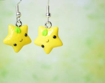 Kawaii Lemon Stars