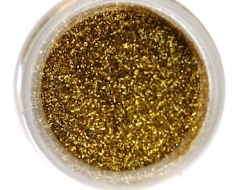 Royal Gold Disco Decorating Glitter - 5 grams - Decorating, Luster and Powder Dusts from Bakell