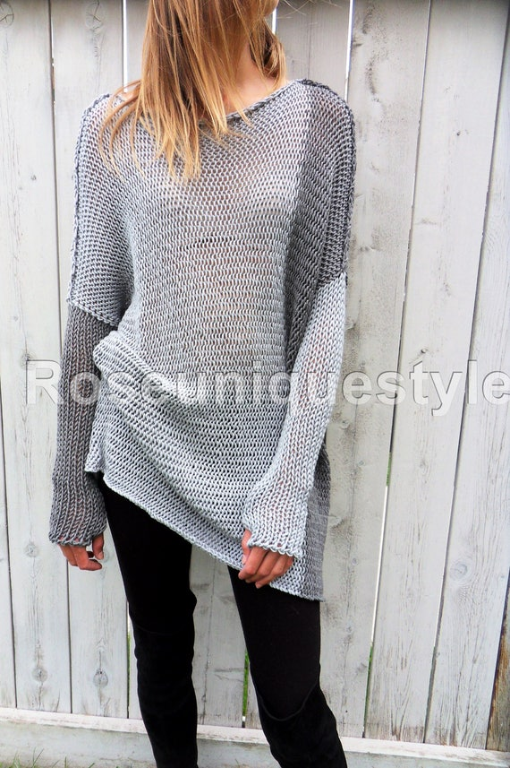 New. Roseuniquestyle Oversized / Slouchy sweater. Chunky