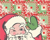 "Swell Christmas Santa Kit measures approx.  56"" x 70"""