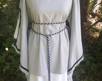 Renaissance dress, Juliet, Narnia women's costume. Linen size large reenactment