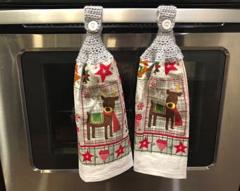 Christmas Hanging Towels (Set of 2)