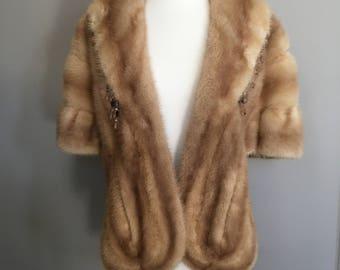 Vintage fox fur wrap