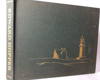 Vintage Edward Hopper 1978 First Edition Jumbo Folio Text LLoyd Goodrich Hardcover Book Abrams