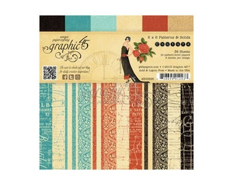 Graphic 45 Couture 6 x 6 Paper Pad