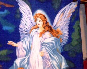 SALE Guardian Angel Fleece Throw Blanket