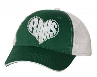 MMHS - Rams Heart Hat