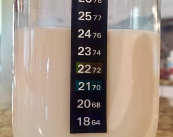 Free shipping!Kefir grains+Thermometer+ph testing stripes. Comprehensive approach to kefir fermentation.