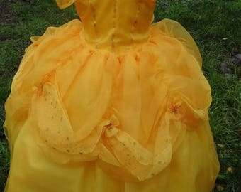 Christmas in July Deals Belle Dress handmade Princesses and this gorgeous dress