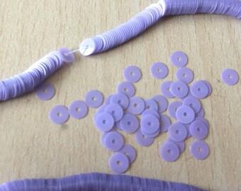 Sequin opaline lilac diameter 5 mm