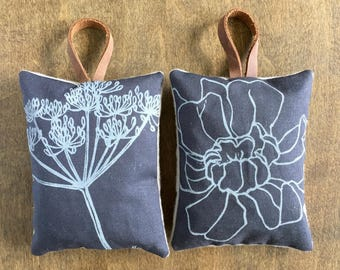 Lavender Sachets, Set of 2, Sachet Pillows, Drawer Sachets, Car Freshener, Gifts Under 20, Made in Colorado