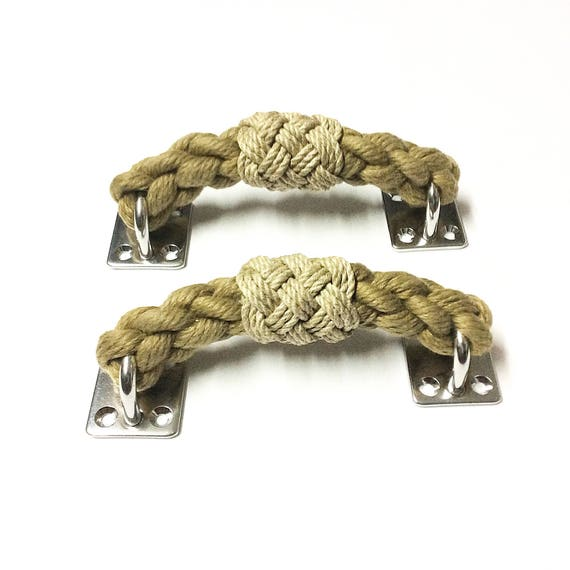 ROPE HANDLE PULL drawer pull beach nautical decor seachest