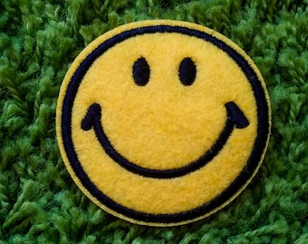 Vintage 90's Smiley Face Patch