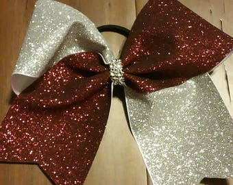 Glitter Cheer Competition Bow