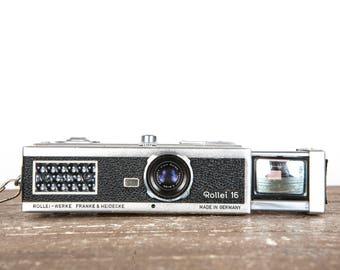 Rollei 16 Miniature Submarine Vintage Film Camera in Near Mint Condition