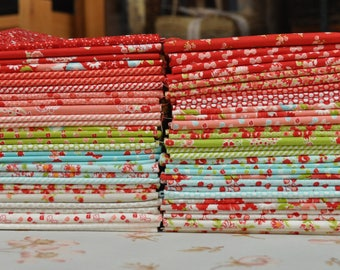 Little Ruby Fat Quarter Bundle by Bonnie & Camille for moda