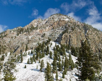 Snow Topped Mountain Digital Download 8x10