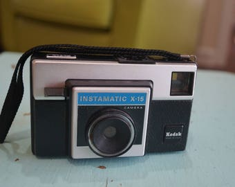 Vintage Kodak Instamatic X-15 Camera 1970s