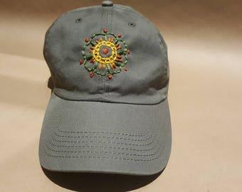 Mandala Flower Hat