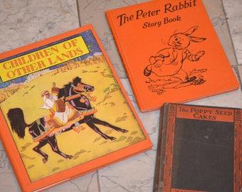 """Vintage Children""""s Books"""