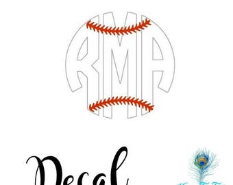 Baseball Mom Decal Etsy - Custom car decals baseball