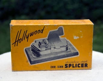 Hollywood Film Splicer - 8 mm and 16 mm - Splice on the Go!