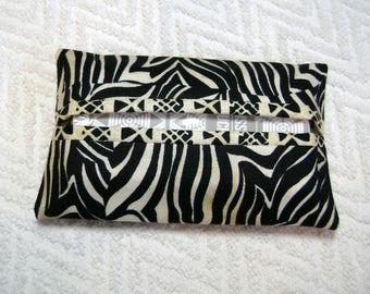 Pocket Tissue Holder - Tissue Holder - Tissues - Kleenex - Fabric Tissue Holder - Contemporary Fabric - Modern Fabric - TC187