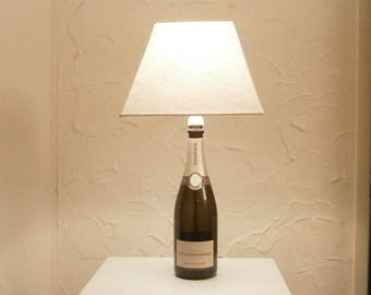 Louis Roederer Champagne Bottle Lamp,Light,Lighting.