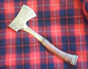 Vintage Estwing Camping Hatchet, Great Patina Fantastic Original Condition, Rockford Ill, Made In USA!