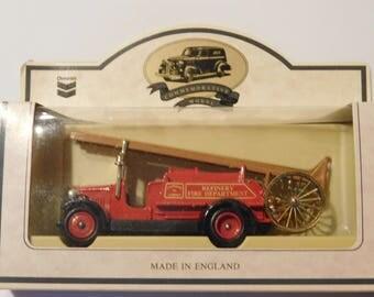 Chevron Commemorative Model Made in England Fire Truck