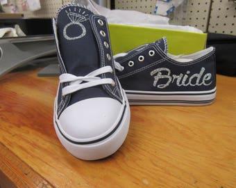 Bride sneakers, bride to be, wedding