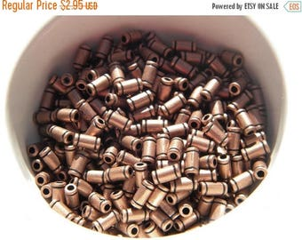 HALF PRICE 30 Copper Tube Beads - 6mm