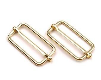 2 loops adjustable 33 mm gold