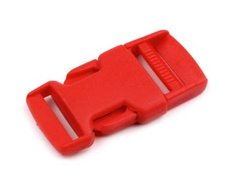 4 clip strap red 25 mm