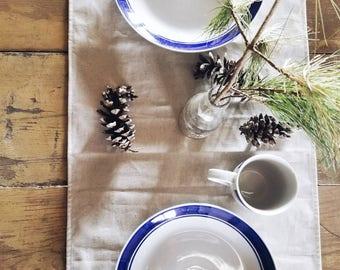 Natural 100% Hemp Linen Table Runner