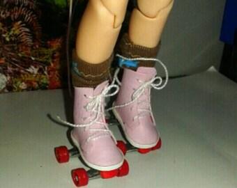 Blythe Roller Skates pink ESC 1/6 Blythe,pullip,etc