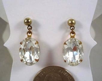 Crystal Earrings - Wedding - Prom - Stud Earrings - Crystal Jewelry - Gift For Her