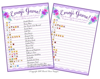 free bridal shower games pdf
