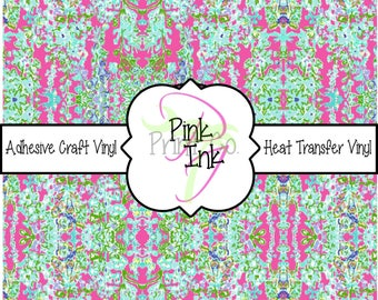 Beautiful Patterned Craft Vinyl and Heat Transfer Vinyl Pattern 150