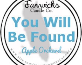 You Will Be Found Dear Evan Hansen Inspired Fandom Candle - 4 oz